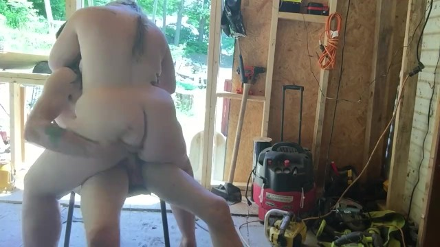 Bbw movie site - Fucking out in our construction site