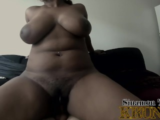 Big Booty Sinamon Rides, Orgasms & Teases Cock After Cumming