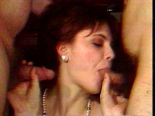 Threesome For Young Slut