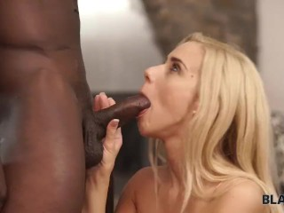 black4k young interracial couple enjoys sex after taking selfie