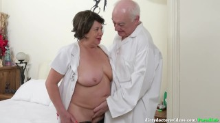 Fun in the Treatment Room with The Dirty Doctor Reverse tits