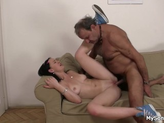 German milf gettting black cock
