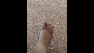 Sexy College Feet