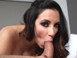 Hot Wife Jelena Jensen Cheats On Hubby In Zebra Corset With His Brother!