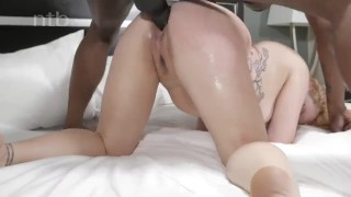 Redhead squirts deep horny and quivers while balls banged orgasm mother