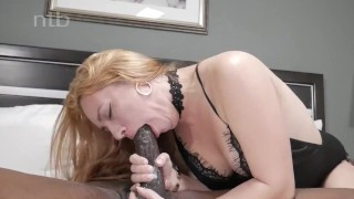 Banged and horny squirts balls while quivers deep redhead orgasm black