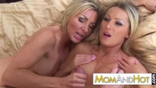 MILF moms Dianna Doll and Lisa De Marco porno