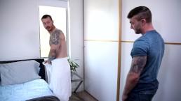 Je Weet Dat Ik Hetero Ben Toch? Laten We Onze Bareback Sex Tussen Ons Houden