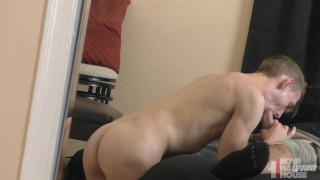 Preview 5 of Sexy Young Twink Gets Creeped On By Daddy