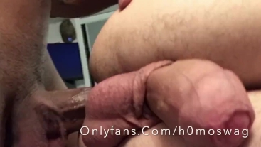 Destroying my boys hole - full video on onlyfans - 4K