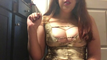 Sexy Chubby Brunette Teen Smoking White Filter 100 Big Perky Natural Tits