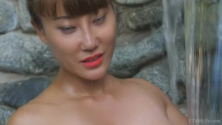Asian Hottie Tiffany Rain Shows Her Big Tits on FTV MILFs  big tits masturbation waterfall ftvmilfs masturbate mom exotic mother swimming underwater asian pussy big boobs pussy close up long legs