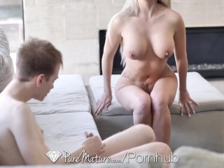 PUREMATURE Call girl MILF anal fucked by client