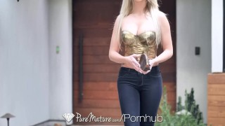 PUREMATURE Call girl MILF anal fucked by client  ass fuck older woman hd mom blonde blowjob big dick busty milf puremature anal sex mother anal facial brooke paige