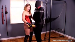 Edging Sessions: Bound and Helpless Tease