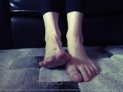 Barefoot Ignore - Foot Fetish Voyeur Humiliation