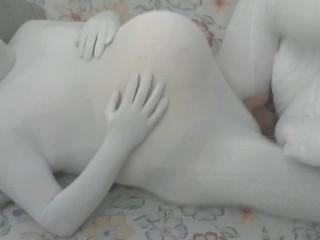 Busty ebony milf ass