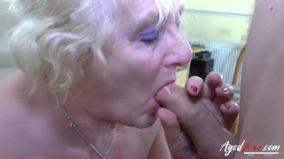 AgedLovE Mature Claire Knight Hardcore Footage Old boobs