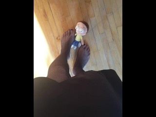 Blonde milf goes anal