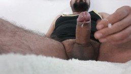 Small cock cumshot