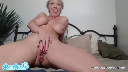 Dee Williams Anal Plug and Masturbation
