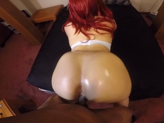 Sexy chick w/ perfect body gets bent over & fucked good!