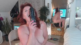 V95 Curvy PAWG DawnSkye in second raceplay video, BBC, plus smoking