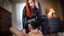 So you wanna be My Sex Slave? Lady Fyre -Femdom POV MILF