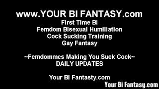 Bisexual Femdom And Sissy Feminization Vids  femdom bisexual bisexual humiliation point of view femdom bi femdom fetish bisexual blowjob kink made to suck adult toys strapon sucking cock sucking femdom bsdm femdom gay