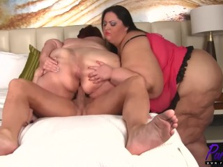 Songs about sexy inviting apple bomb into a ssbbw threesome pure bbw 3some big boobs big