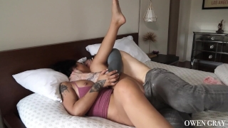 Sex non couple orgasm vid tattooed stop cum cock