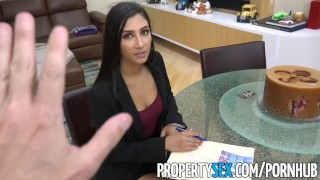PropertySex - Real estate agent cheats on boyfriend to land deal Natural bent