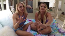 Teen Step Daughters Alix Lynx And Cali Carter Caught Being Lesbians