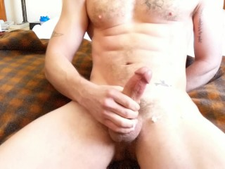 Jay Austin Slo-Mo Jerkoff and Cum