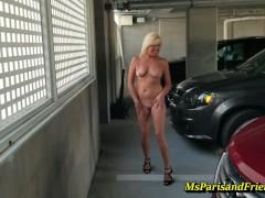 Full Nude Stripping in Public