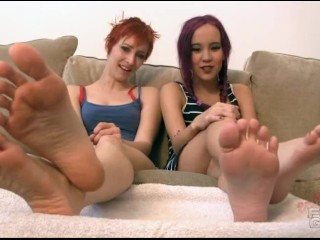 Orias and Amai Liu Foot humiliation drain yourself brattyfootgirls.com