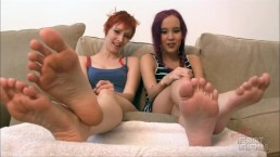 Orias and Amai Liu Foot humiliation drain yourself brattyfootgirls.com