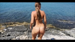 BEST BEACH PUBLIC BLOWJOB AND CUMSHOOT