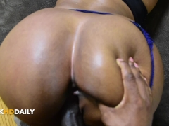 Fucking My Thick Ass Homegirl...Pussy Had My Toes Curling