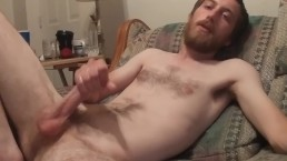 Jerking and blowing a load