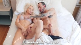 PORNPROS Elsa Jean handles morning wood like a champ