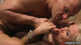 European babe eats pussy after getting banged