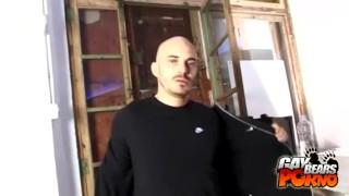 Bald jacking kinky off bear bald jerking
