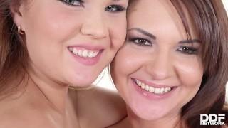 Anal Loving Lesbians Courtney Blue & Kristina Miller Lick Their Buttholes