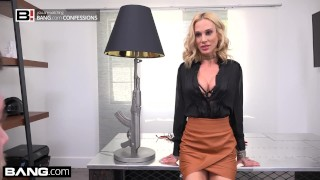 Preview 6 of Boss babe Sarah Jessie fucks her assistant on the job