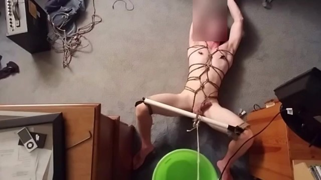 Male self bondage