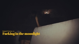 We Sneak up into a Public Rooftop to fuck and cum in mouth - Natali Fiction