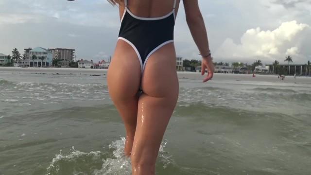 Gays in thong in beaches Hot girl thong beach sideboob