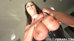 Manuel Ferrara - Angela White's Asshole Will Never Be The Same!