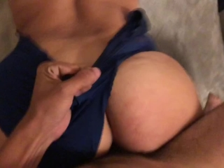 Throwing up on big Dominican cock - fucks me so hard